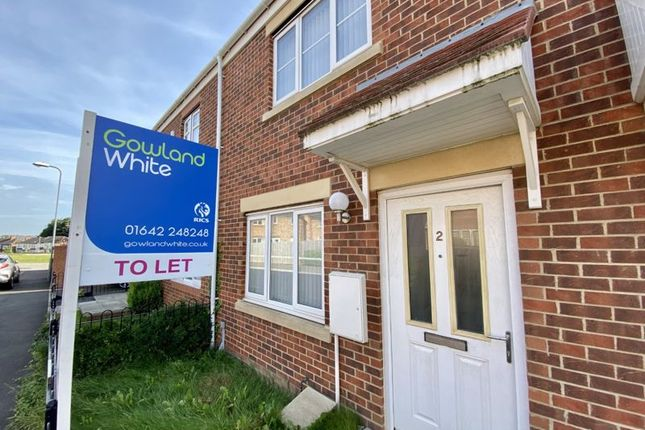 Thumbnail Terraced house to rent in Merton Road, Middlesbrough