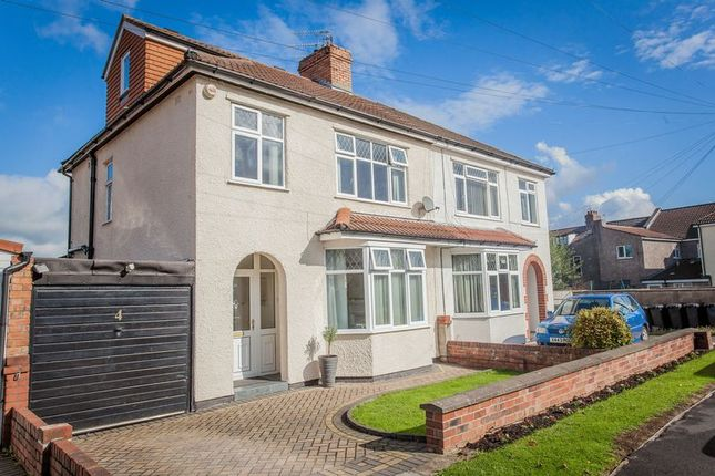 Thumbnail Semi-detached house for sale in Wellington Drive, Westbury-On-Trym, Bristol