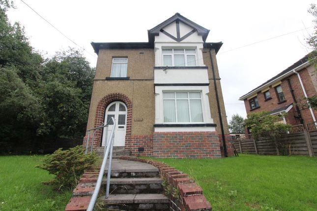 Thumbnail Detached house for sale in Merthyr Road, Nantybwch, Tredegar
