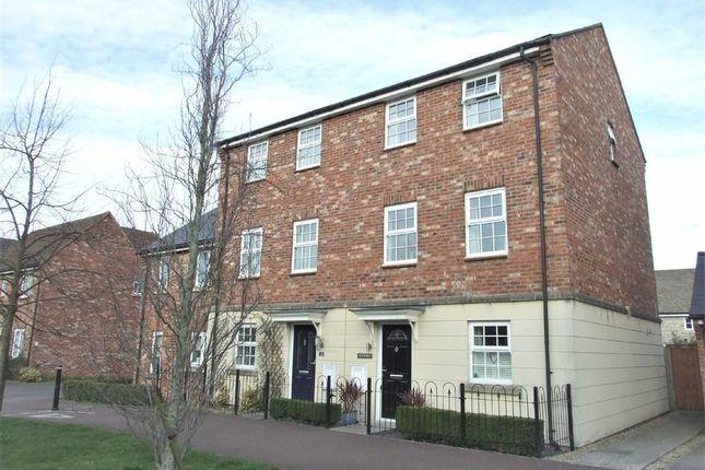 Thumbnail Semi-detached house for sale in Kittyhawk Close, Bowerhill, Melksham
