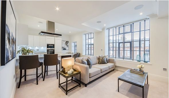 Thumbnail Flat to rent in Palace Wharf Apartment, Hammersmith