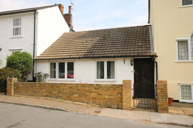 Thumbnail Terraced bungalow for sale in 5A The Downs, Dunmow, Essex