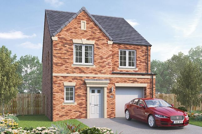 "Thumbnail Detached house for sale in ""The Ashbury"" at Steeplechase Way, Market Harborough"