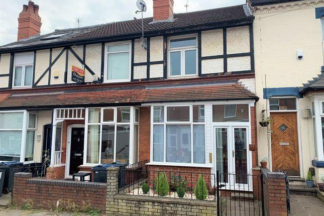 Thumbnail Terraced house for sale in Milner Road, Selly Oak, Birmingham