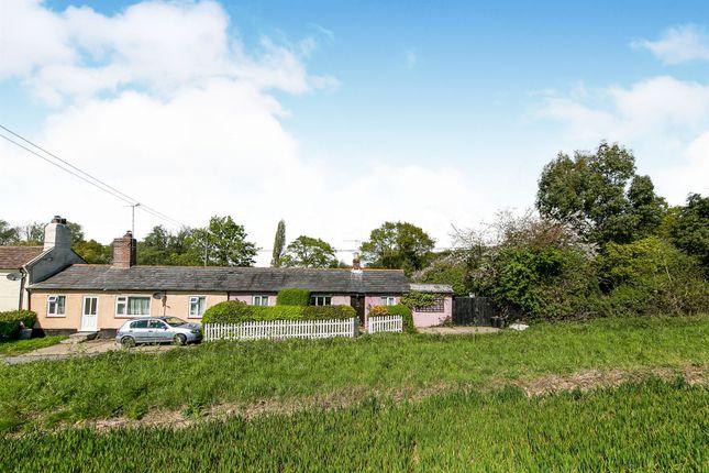 Thumbnail Bungalow for sale in Rectory Road, Little Oakley, Harwich
