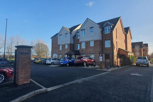 Thumbnail Flat to rent in Brabourne Gardens, North Shields