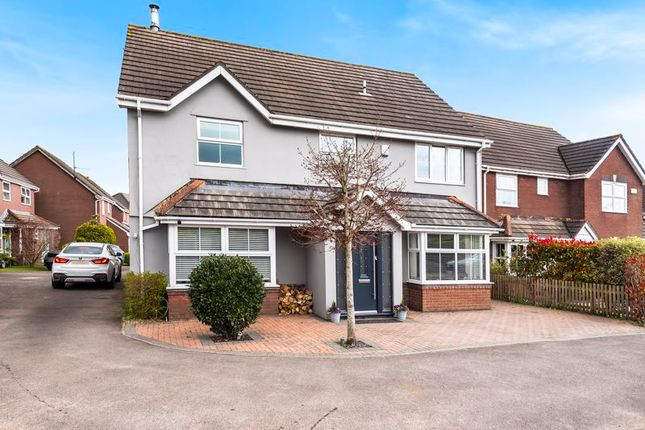 Thumbnail Detached house for sale in Bishop Close, Caerwent, Monmouthshire