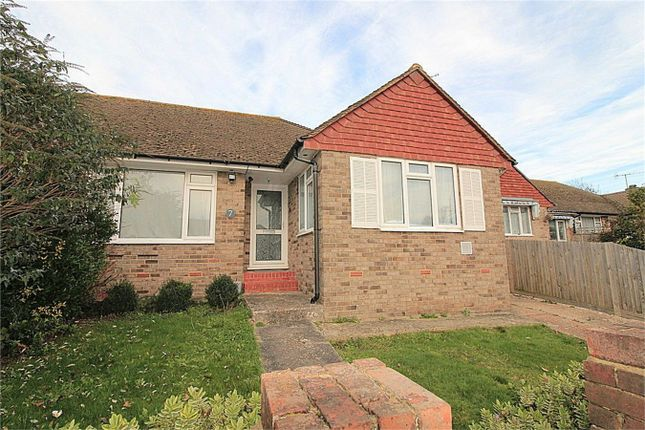 Thumbnail Semi-detached bungalow for sale in Chichester Close, Bexhill On Sea, East Sussex