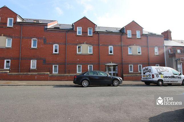 Thumbnail Flat for sale in Gwennyth Street, Roath, Cardiff