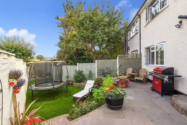 Rear Garden of Melrose Crescent, Orpington, Kent BR6