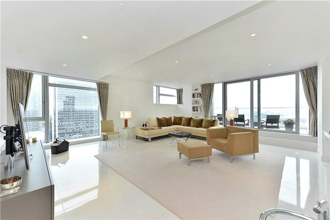 Thumbnail Flat to rent in Pan Peninsula Square, London