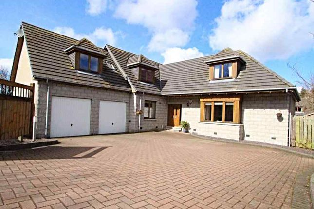 Thumbnail Detached house for sale in Old Skene Road, Kingswells, Aberdeen