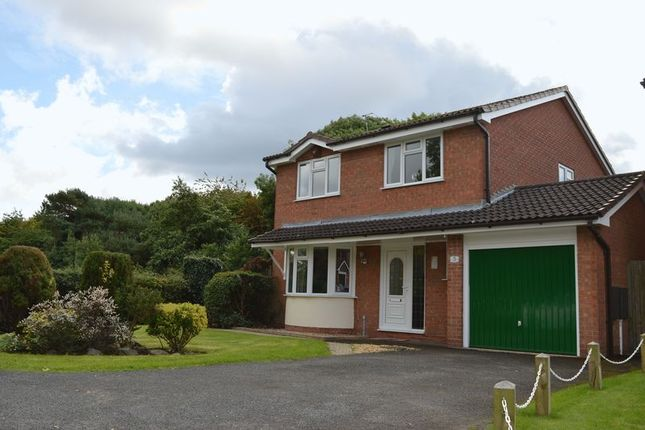 Thumbnail Detached house to rent in Ivatt Close, Telford
