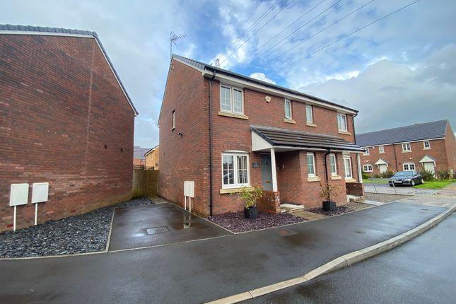 Thumbnail Semi-detached house for sale in Dyffryn Y Coed, Church Village, Pontypridd