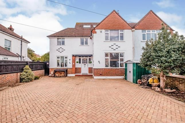 5 bed semi-detached house for sale in Beeches Avenue, Worthing, West Sussex BN14