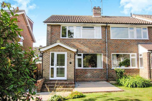 Thumbnail End terrace house for sale in Fieldway, Lindfield, Haywards Heath