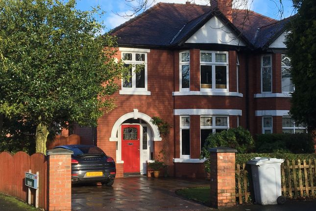 Thumbnail Terraced house to rent in Knutsford Road, Wilmslow, Cheshire