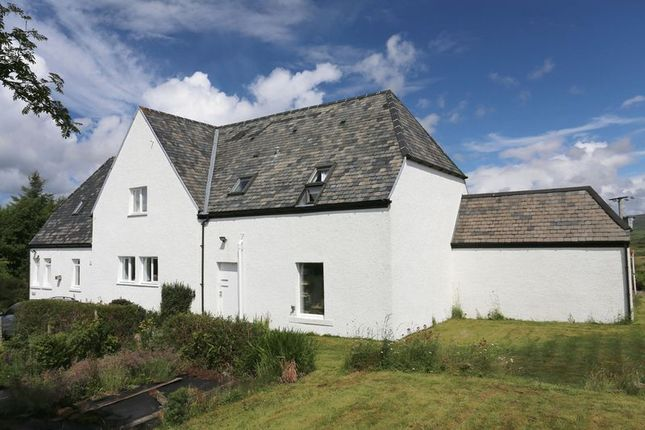 Thumbnail Detached house for sale in Bernisdale, Skeabost Bridge, Portree
