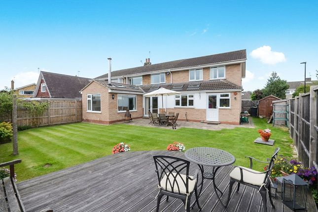 Thumbnail Semi-detached house for sale in Old Orchard, Haxby, York