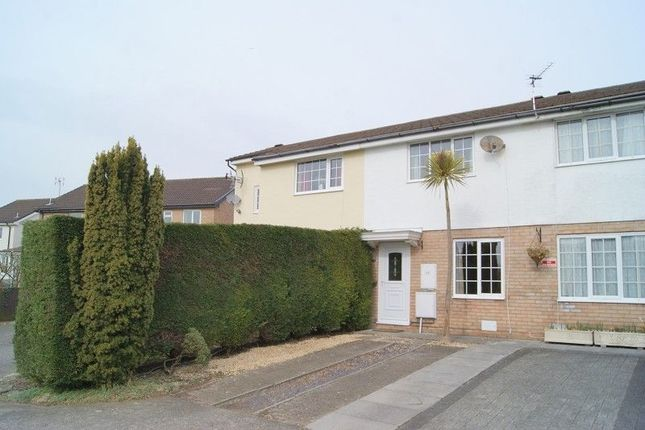 Thumbnail Terraced house to rent in The Chase, Brackla, Bridgend.