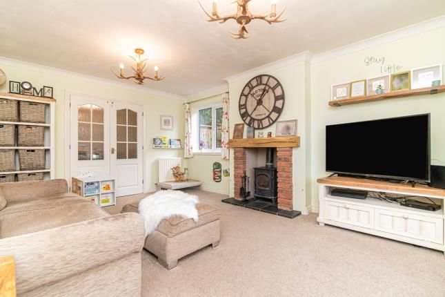 Lounge of Summerhouse Close, Redditch, Worcestershire, Callow Hill B97