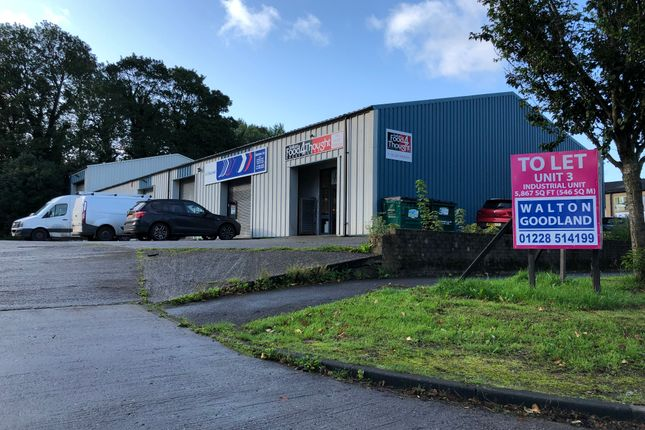 Thumbnail Industrial to let in Allenbrook Road, Carlisle