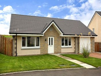 Thumbnail Bungalow to rent in Homefarm Park, Rothienorman, Aberdeenshire