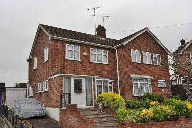 Thumbnail Semi-detached house for sale in Alder Drive, Moulsham Lodge, Chelmsford, Essex
