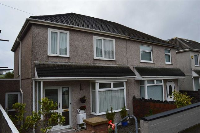Thumbnail Semi-detached house for sale in Lydford Avenue, Swansea