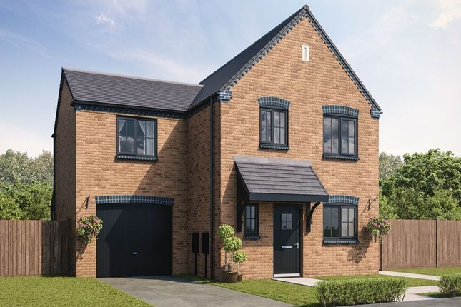 Thumbnail Detached house for sale in Essendene Rise, Freeman Way, Ashington, Northumberland