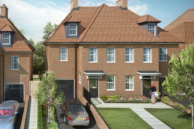 "Thumbnail Semi-detached house for sale in ""Cascade II"" at Barnet Road, Arkley, Barnet"