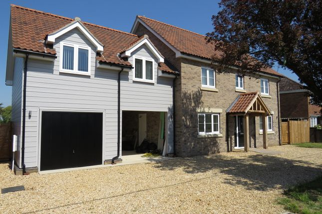 Thumbnail Detached house for sale in Flegg Green, Wereham, King's Lynn