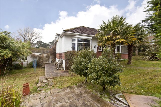 Thumbnail Detached bungalow to rent in Durrant Road, Lower Parkstone, Poole