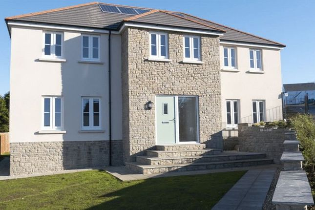 Thumbnail Detached house for sale in Plot 1, Green Meadows Park, Tenby