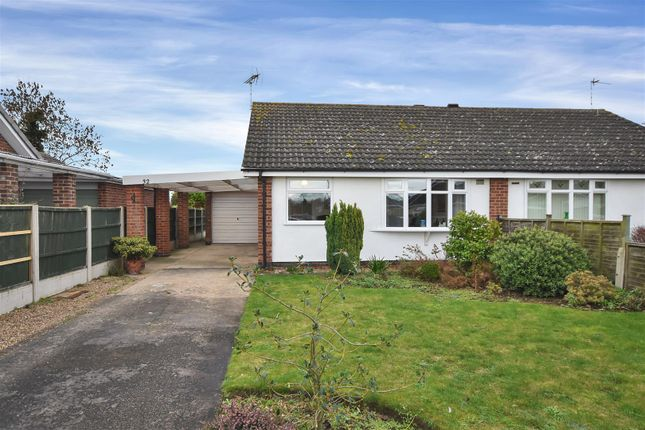 2 bed semi-detached bungalow for sale in Crew Road, Collingham, Newark NG23