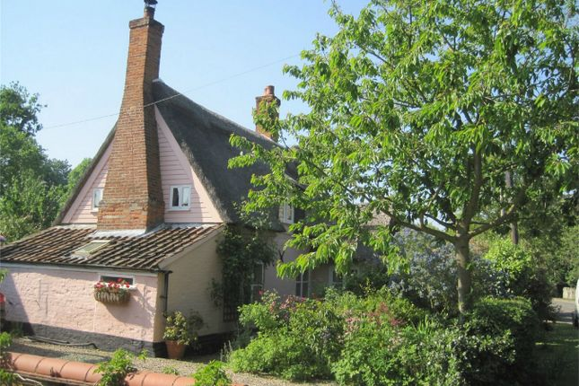 Thumbnail Cottage for sale in Grange Farm Cottage, The Street, Bramerton, Norwich