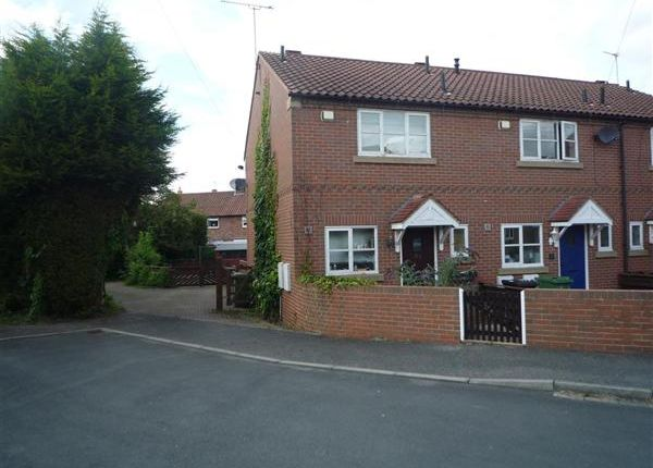 Thumbnail End terrace house for sale in Low Way, Clifford, Wetherby