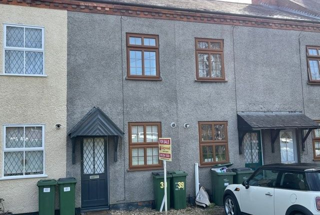 2 bed terraced house for sale in Leicester Road, Countesthorpe, Leicester, Leicestershire LE8