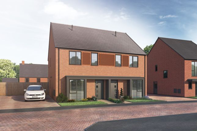 Thumbnail Semi-detached house for sale in Off Derby Road, Wingerworth