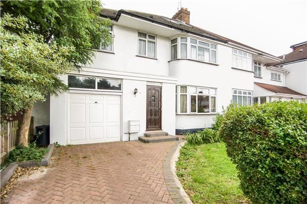 Thumbnail Semi-detached house for sale in Ilmington Road, Kenton, Middlesex