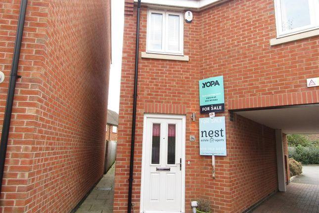 Thumbnail Town house for sale in Marsden Avenue, Queniborough, Leicester