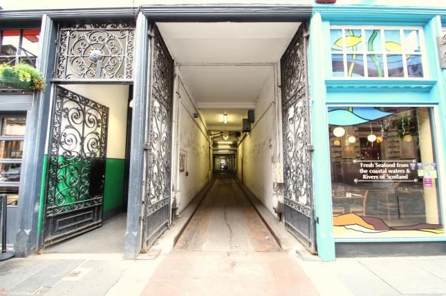 Entrance of Candleriggs, Merchant City, Glasgow G1