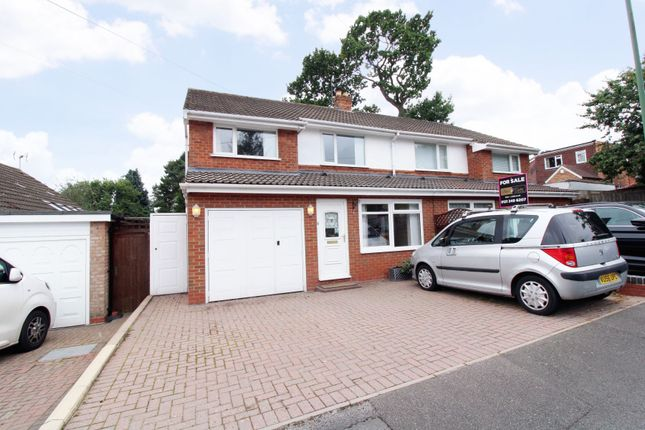 Semi-detached house for sale in Sandy Hill Rise, Shirley, Solihull