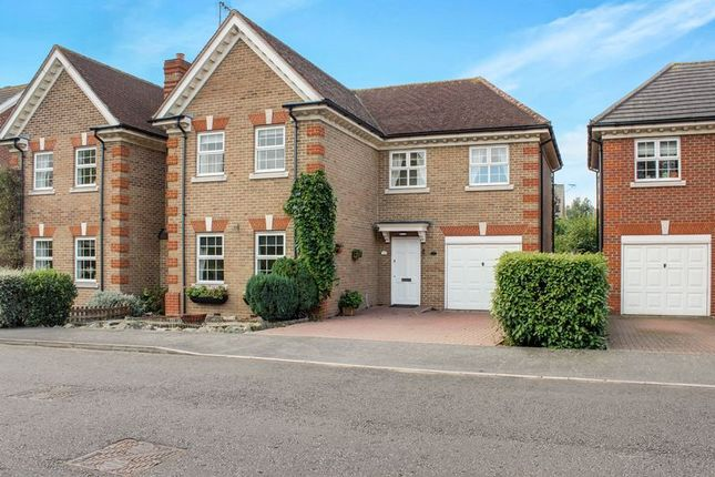 Thumbnail Detached house for sale in Caxton Way, Romford
