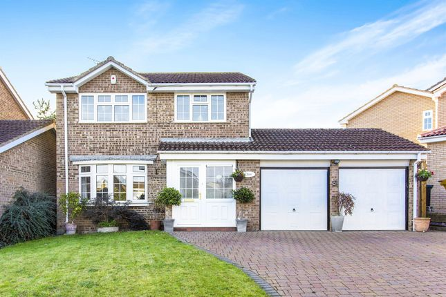 Thumbnail Detached house for sale in Courtwood, Stanwick, Wellingborough