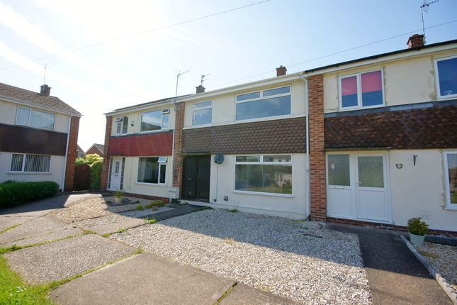 Thumbnail Terraced house to rent in Hutson Drive, North Hykeham, Lincoln