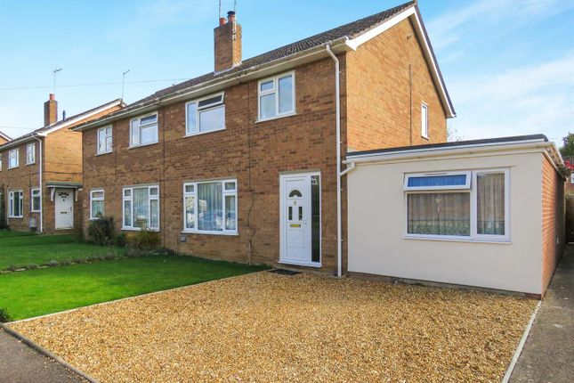 Thumbnail Semi-detached house for sale in Brookside, Houghton, Huntingdon