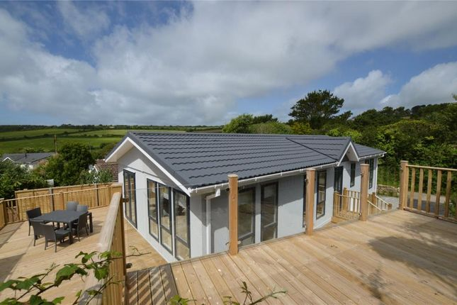 Thumbnail Detached bungalow for sale in Two Chimneys Caravan Park, Praa Sands, Penzance, Cornwall