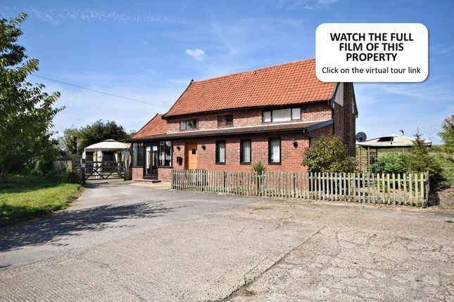 Thumbnail Detached house for sale in Chequers Lane, South Lopham, Diss