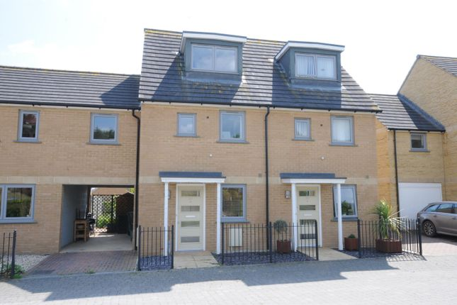 Thumbnail Terraced house for sale in Graces Field, Stroud